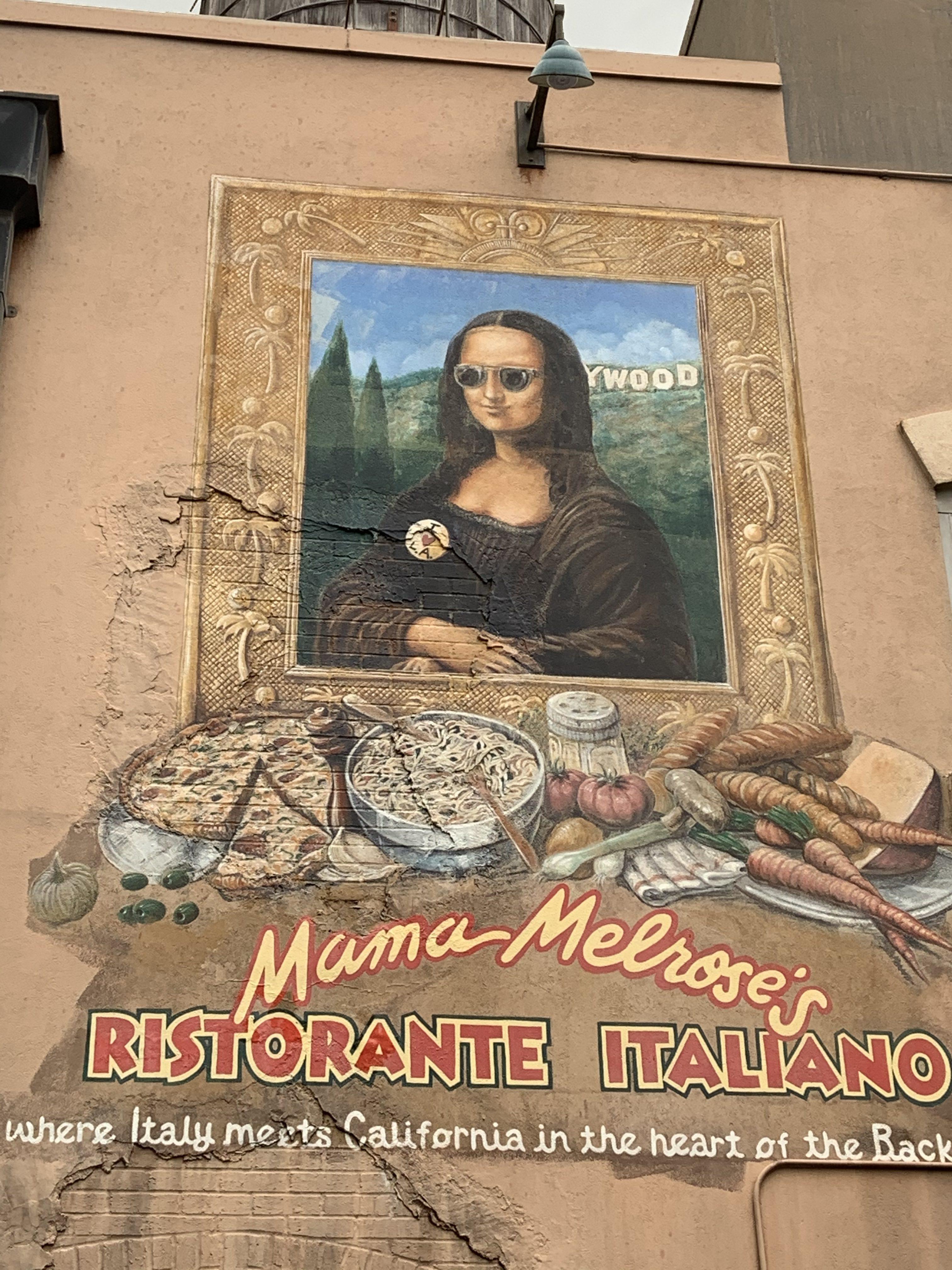 Mona Lisa at Mama Melrose