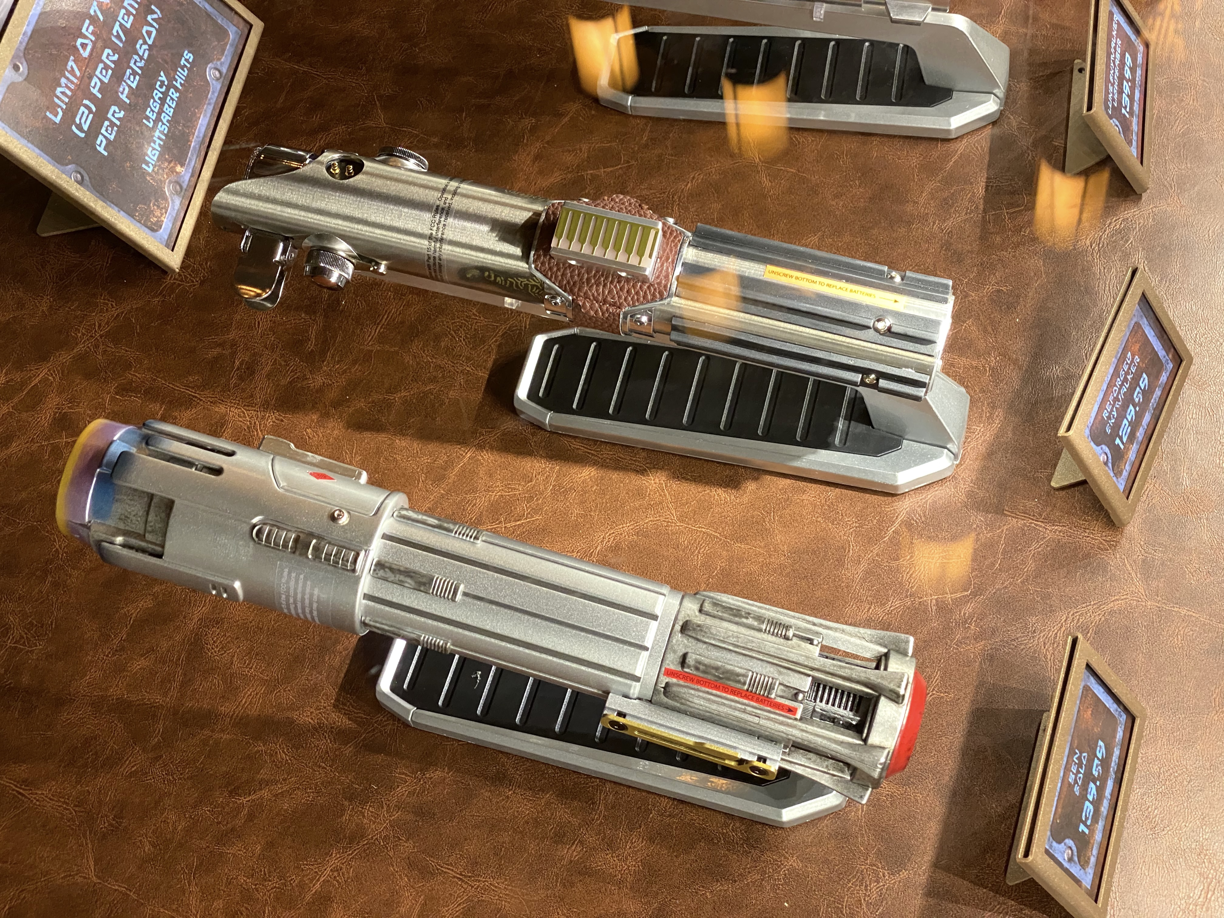 Photos New Ben Solo And Reforged Skywalker Legacy Lightsabers Now Available At Star Wars Galaxy S Edge In Disney S Hollywood Studios Wdw News Today