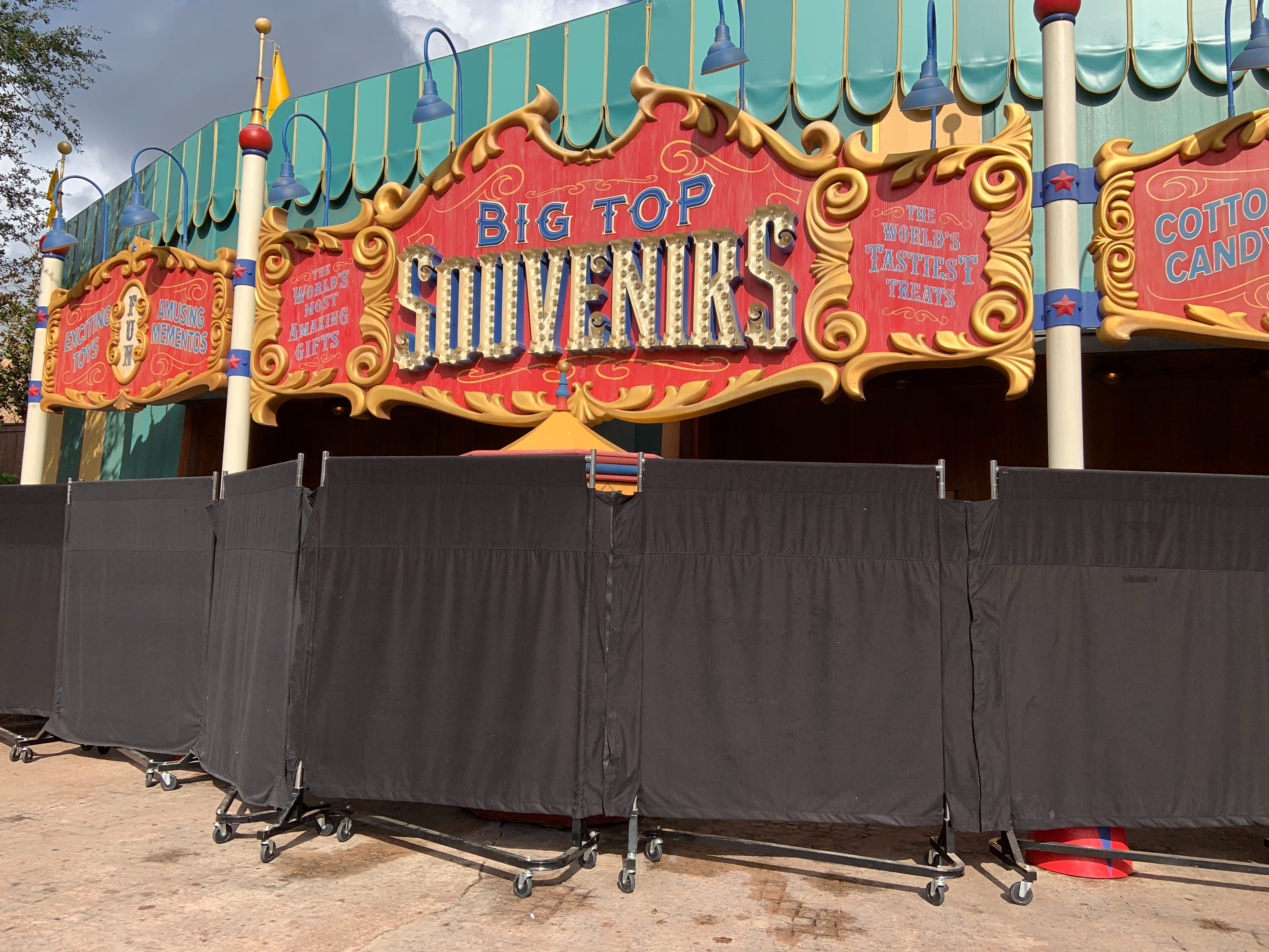Big Top Souvenirs and Pete's Silly Sideshow Closed Due to Technical Difficulties