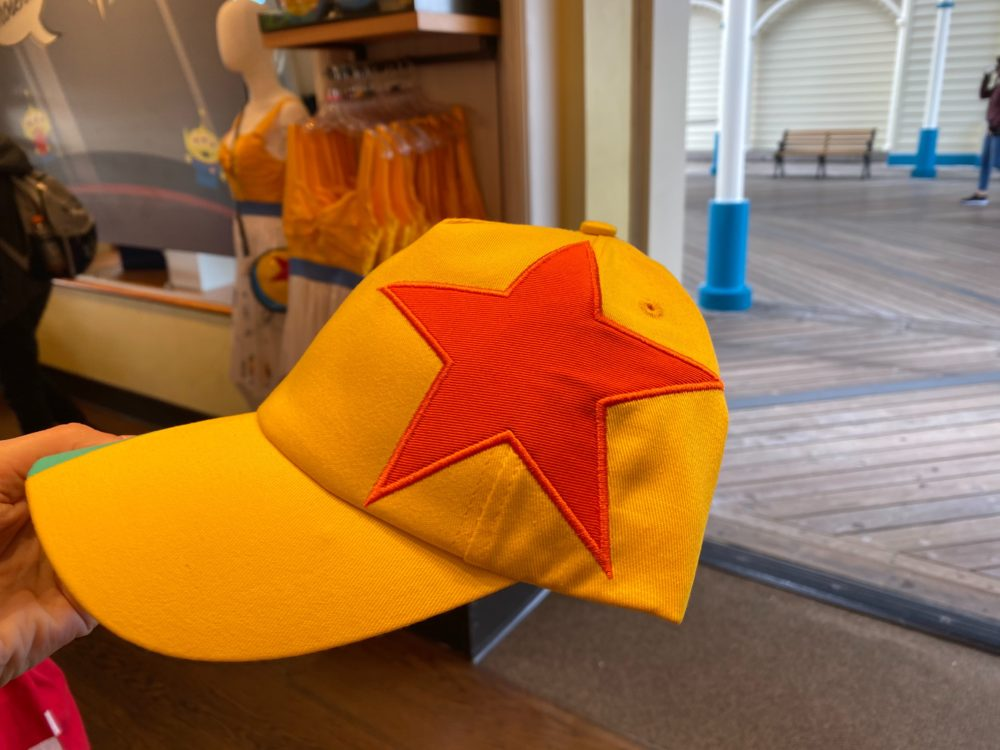 luxo ball hat disneyland
