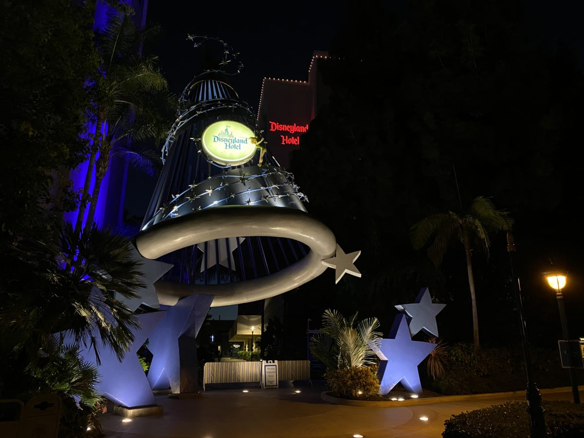 Disneyland Hotel Lights