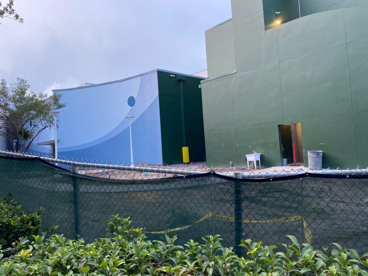 Space 220 Construction Update August 10, 2020 at Epcot