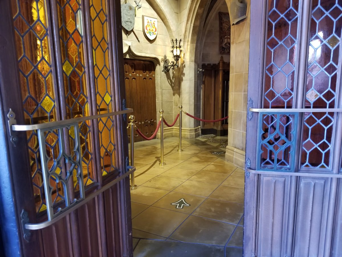 Cinderella's Royal Table Soft Reopening