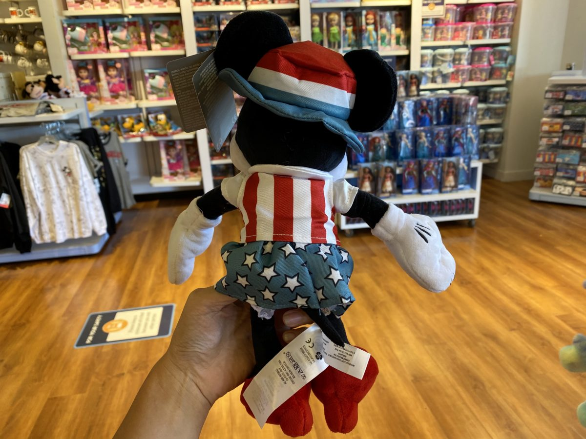 4th of July Mickey Plush Disney Outlet CA