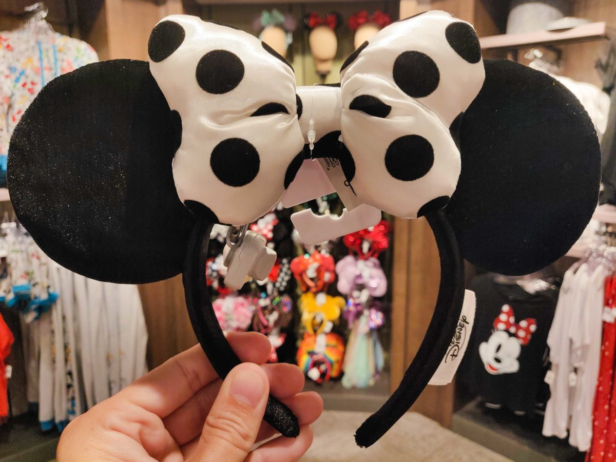 Details about  /MINNIE MOUSE DISNEY MICKEY EARS HEADBAND RED WHITE POLKA DOTS CUTE  NEW