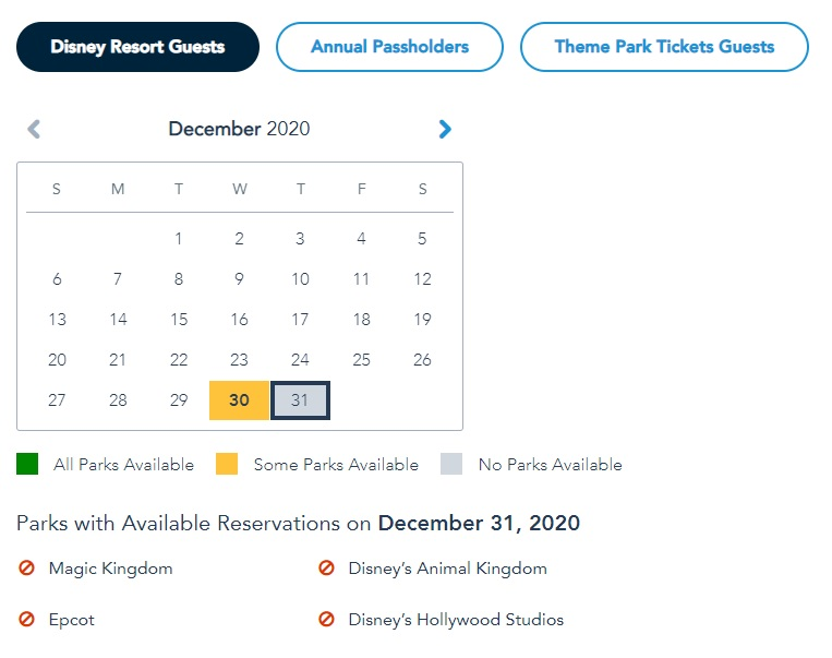disney-park-passes-fully-booked-new-years-eve-resort-guests