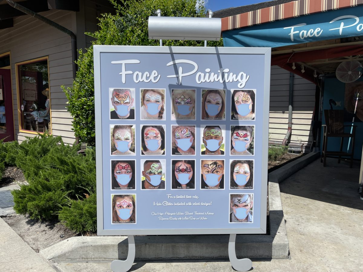 face-painting-reopens-sign-disney-springs-06092021