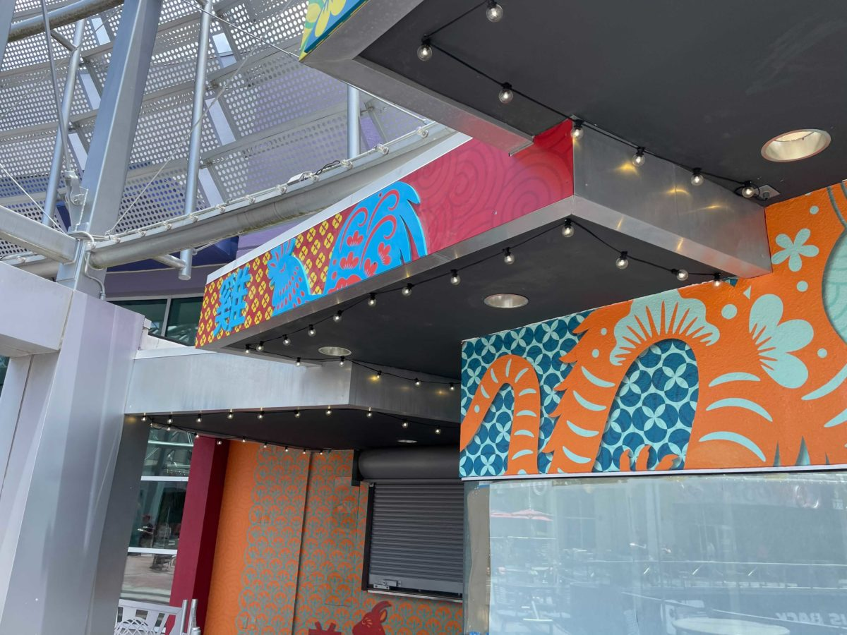 New Asian-Themed food kiosk replaces former Fusion Sushi at Universal Orlando's CityWalk