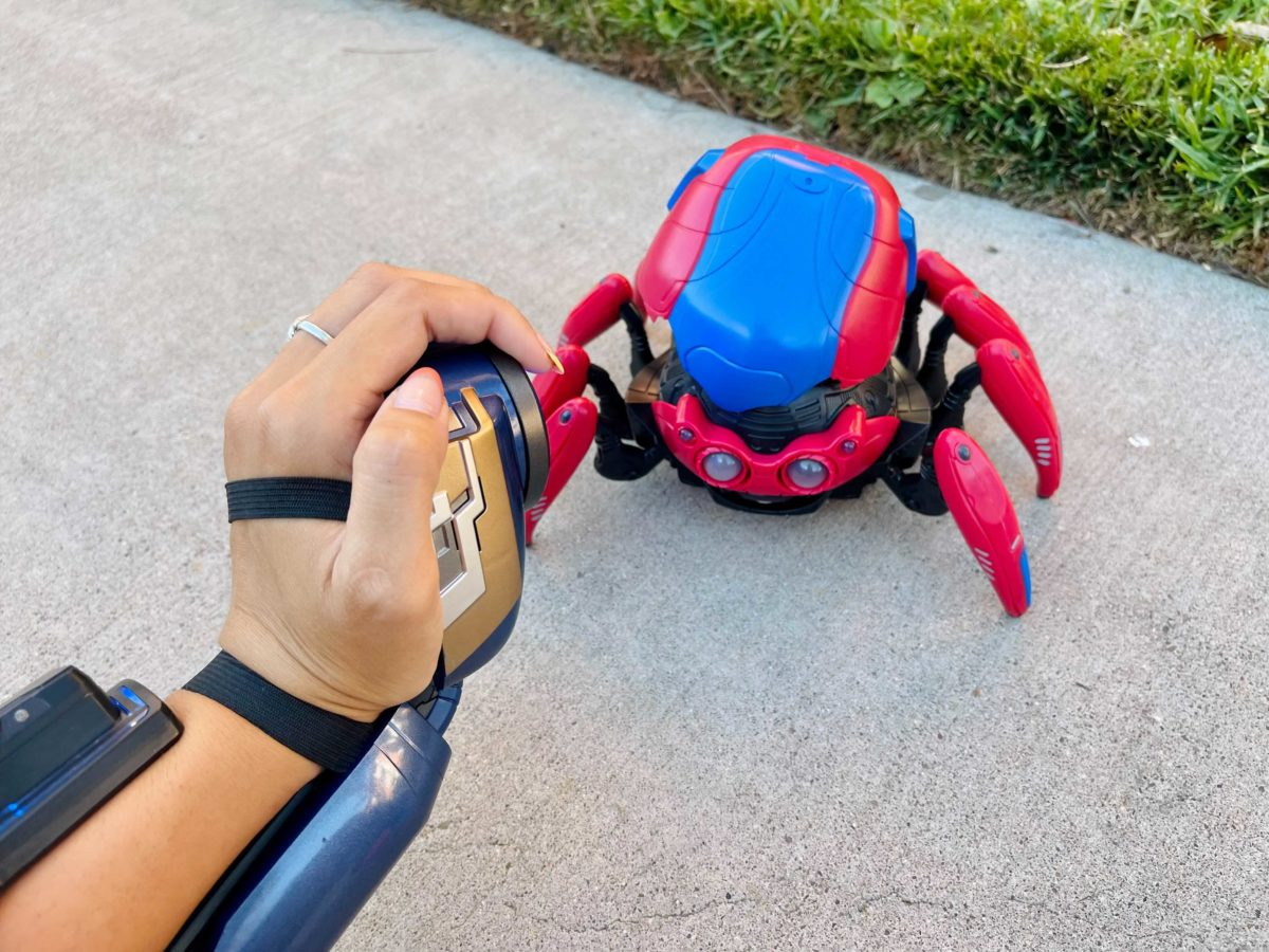 New Spider-Bot and WEB Tech Accessory Add-Ons from Avengers Campus in Disney California Adventure