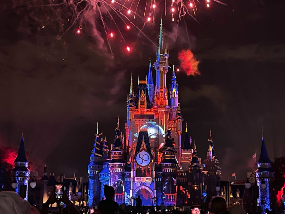 Happily Ever After fireworks in the Magic Kingdom at Walt Disney World