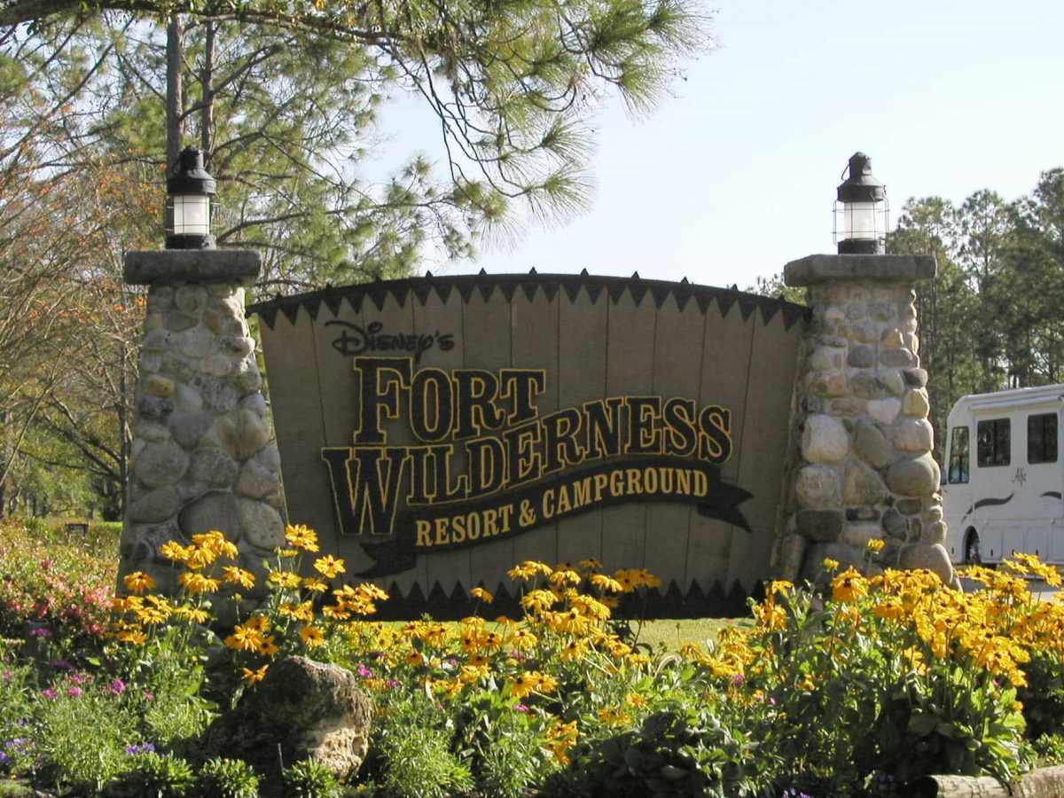 Fort Wilderness sign