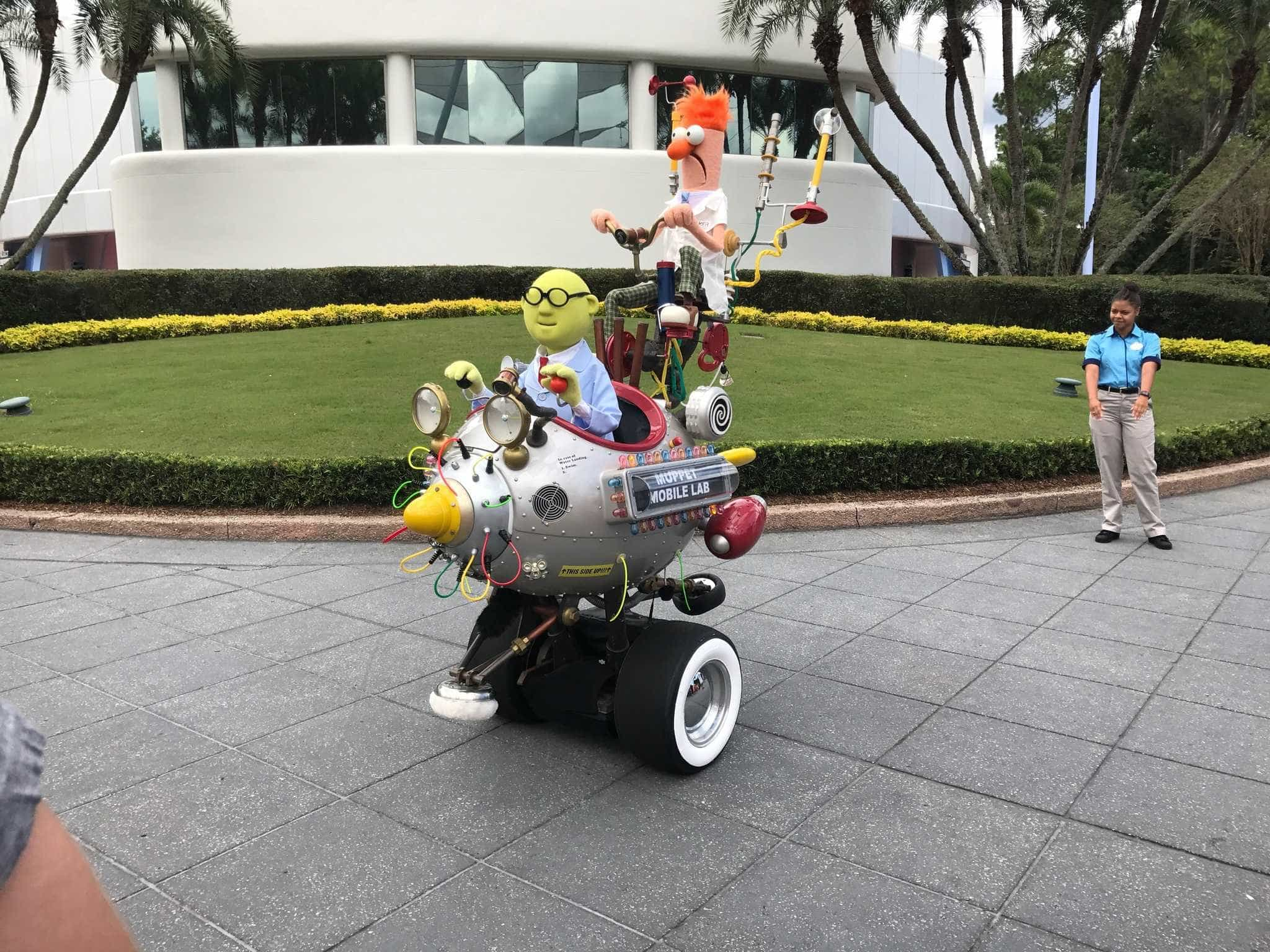 The Muppets Mobile Lab returns to Epcot in 2016 for another test run