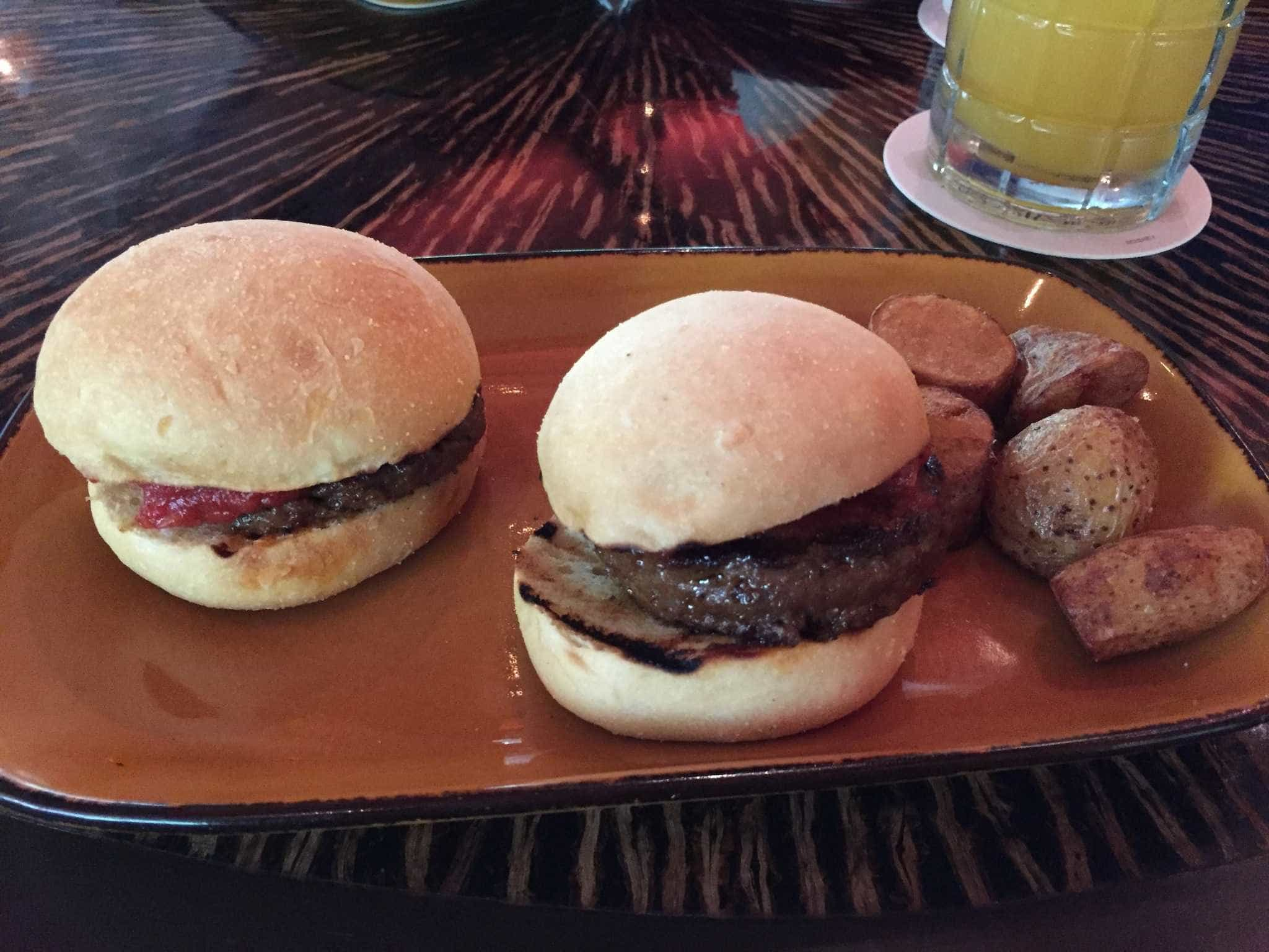 African-Spiced Wagyu Beef Sliders ($14)