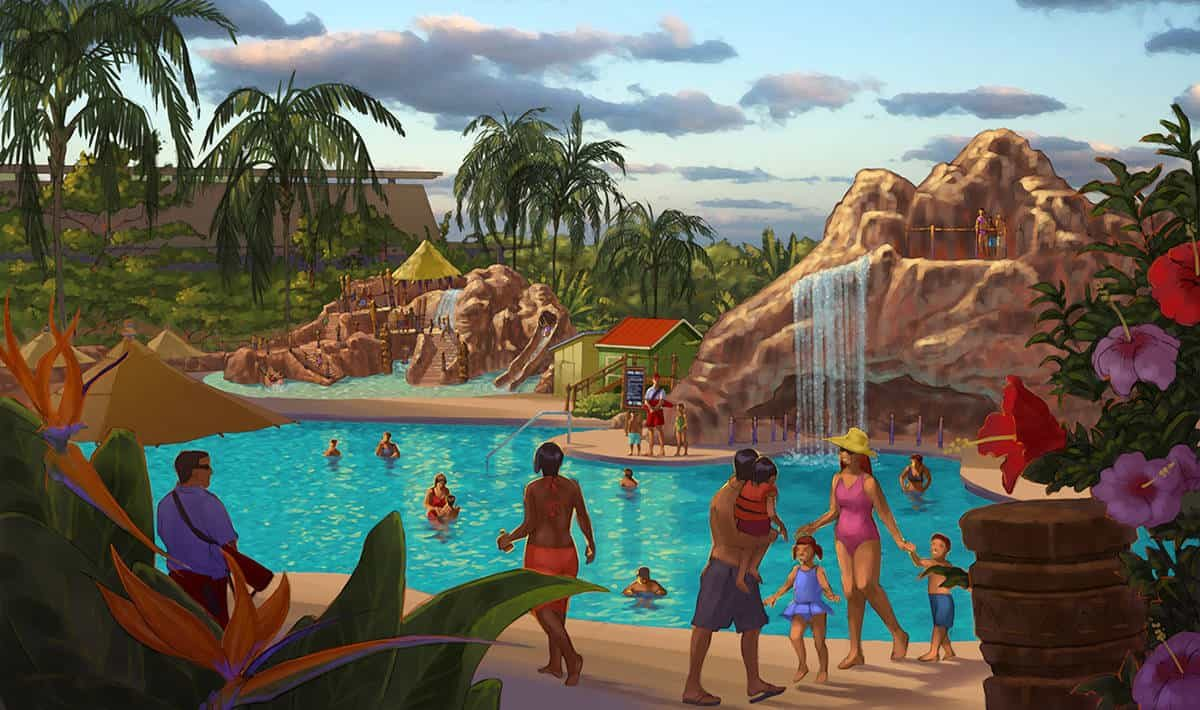 New Concept Art And Details On Disney S Polynesian Village
