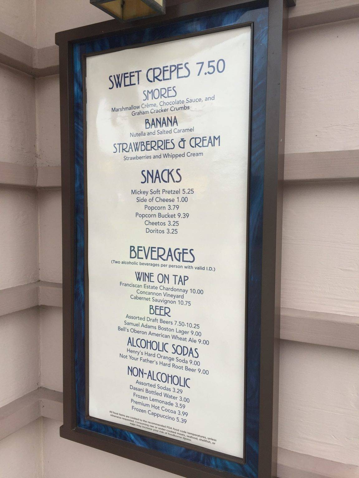Crepes Return to AristoCrepes at Disney Springs with New Menu