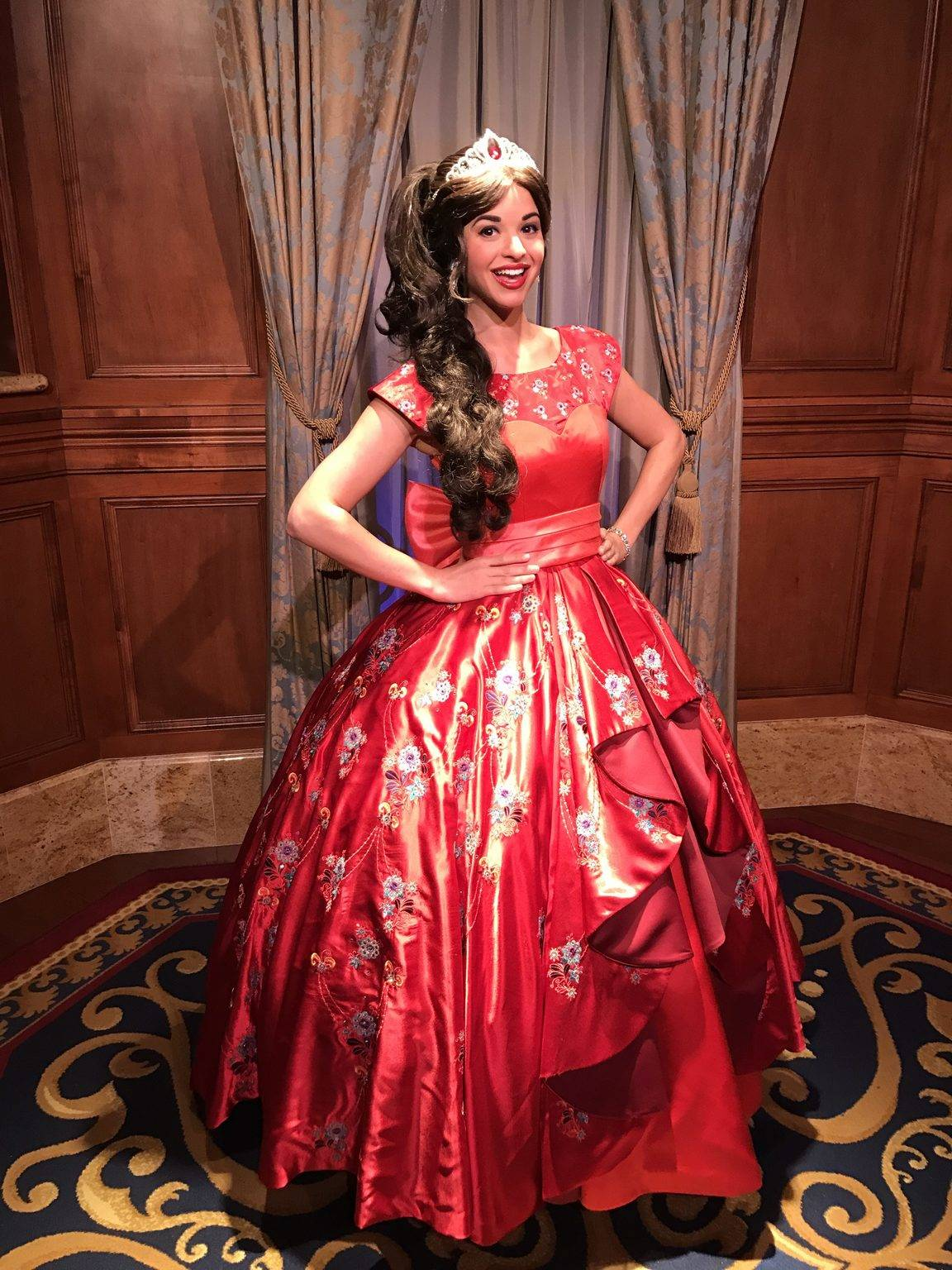 PHOTOS, VIDEO: Elena of Avalor Disney Junior Character Meet and Greet, Now Soft-Open at the Magic Kingdom