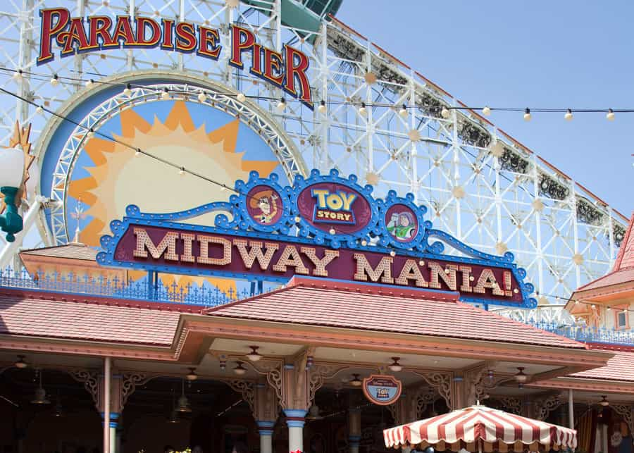 Toy Story Midway Mania will be the first attraction in California to test a digital FastPass service